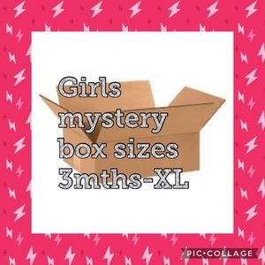 Other - Select a size girls mystery box all sizes!